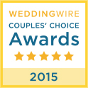 Wedding Wire Couples Choice Award 2015