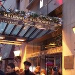 Holiday Marquee Mellinneum Bway